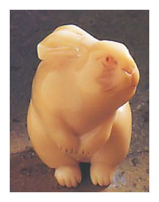 Japanese Netsuke Rabbit