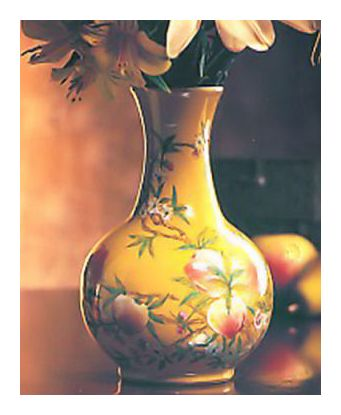 Chinese Peach Blossom Vase