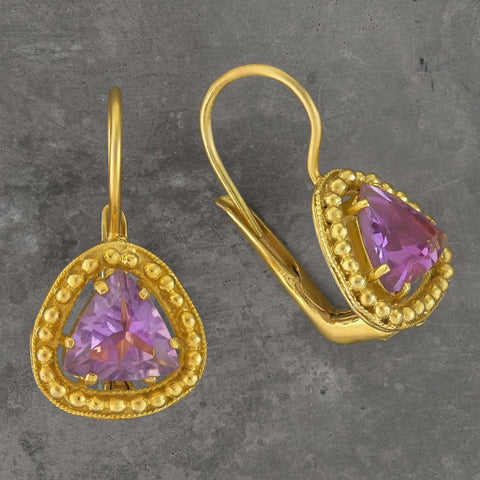 Lammermoor Amethyst Earrings