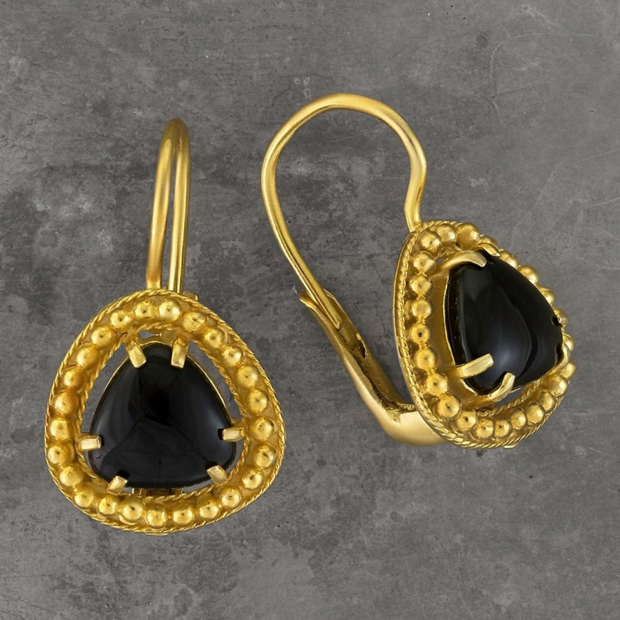 Lammermoor Onyx Earrings