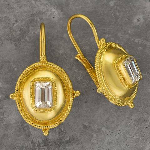 Kirov Cubic Zirconia Earrings