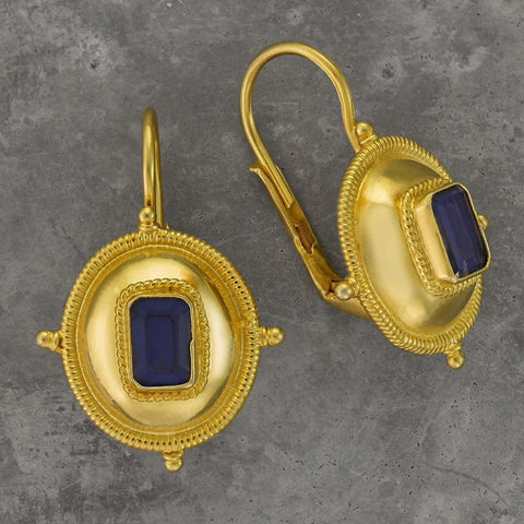 Kirov Iolite Earrings