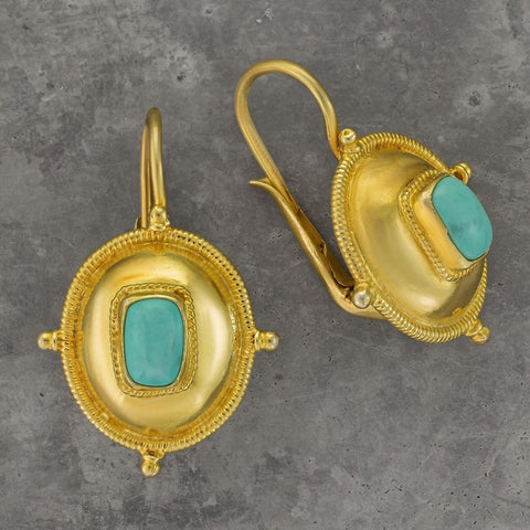 Kirov Turquoise Earrings