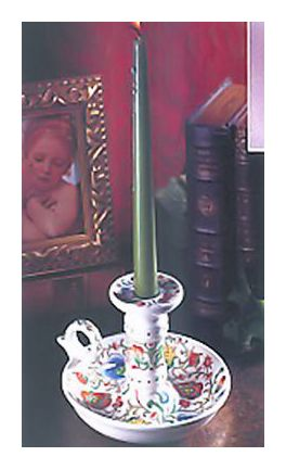 Pair Of Book Of Hours Candlesticks