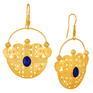 Blue Mosque Lapis Earrings