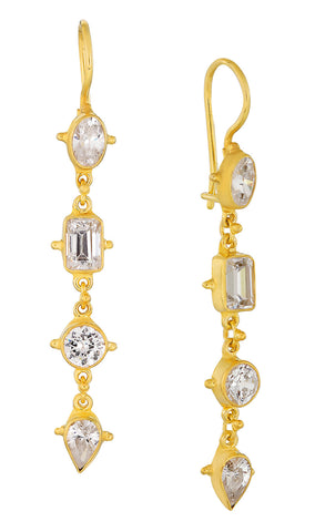 Tess of The D'urbervilles Cubic Zirconia Earrings