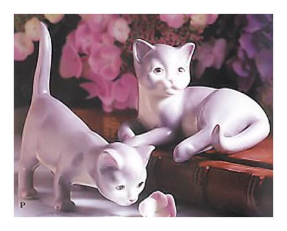 Porcelain Kittens