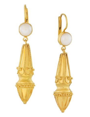 Augustan Pearl Victorian Earrings