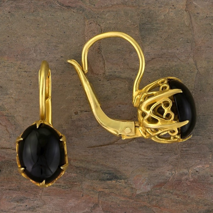 Mayfair Onyx Earrings