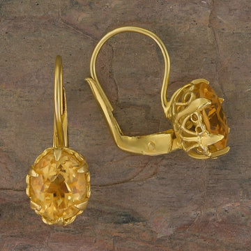 Mayfair Citrine Earrings