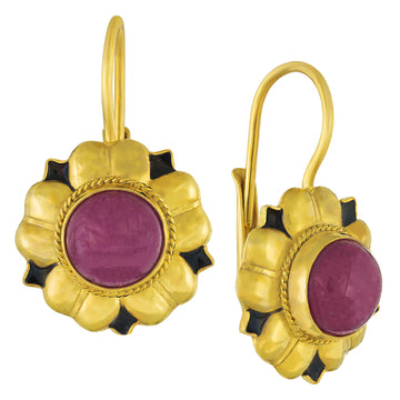 Venetian Ruby Earrings