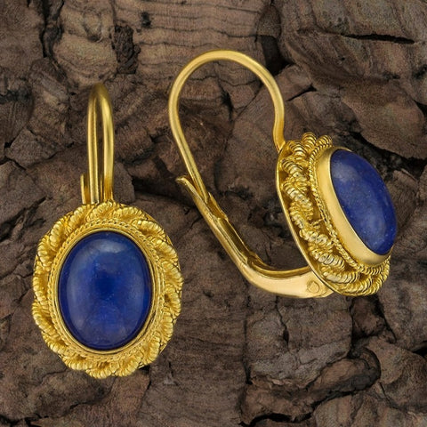 Hermione Highcastle Lapis Lazuli Earrings