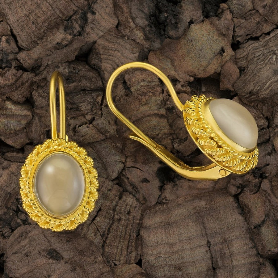 Vita Moonstone Earrings
