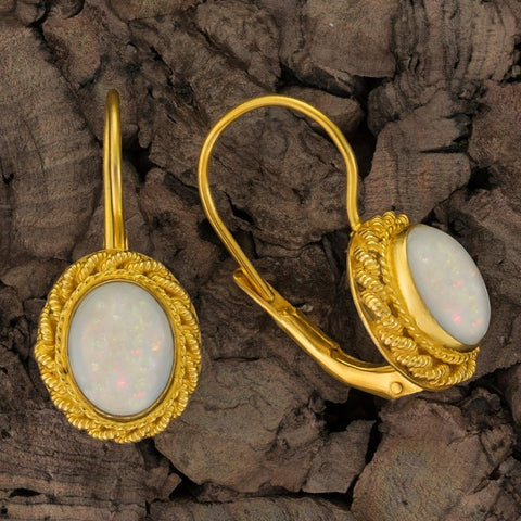 Hermione Highcastle Opal Earrings