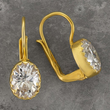 Oxford Cubic Zirconia Earrings