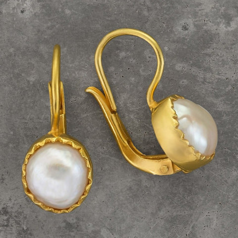 Oxford Pearl Earrings