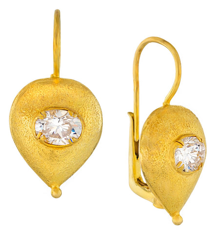 Evelina Cubic Zirconia Earrings