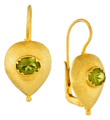 Evelina Peridot Earrings