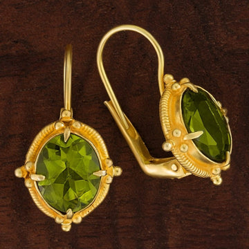 Peridot Aurelian Earrings