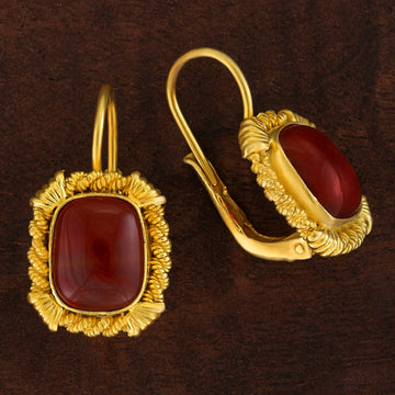 Tyrrhenian Carnelian Earrings