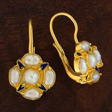 Tudor Pearl Earrings