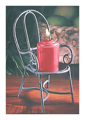 Parlor Chair Candle Holder