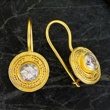 Athena Cubic Zirconia Earrings