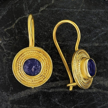 Athena Iolite Earrings