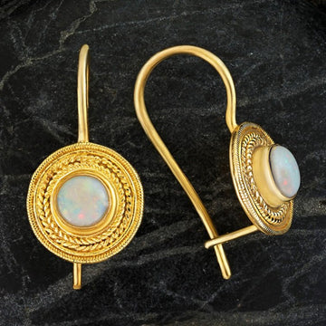 Athena Opal Earrings