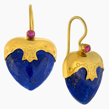 Little Nell Lapis Lazuli Earrings