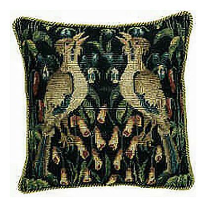 Luxembourg Gardens Needlepoint Pillow