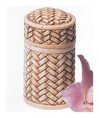 Riverbank Basket Jar