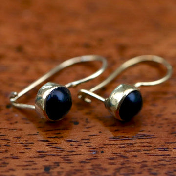 Isadora Onyx Earrings