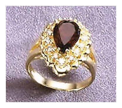 14k Sleeping Beauty Ring (.35ct)