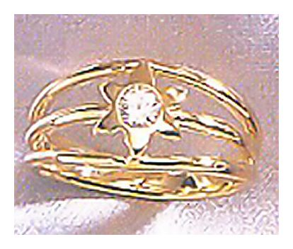 14k Star of Venus Ring (.33ct)