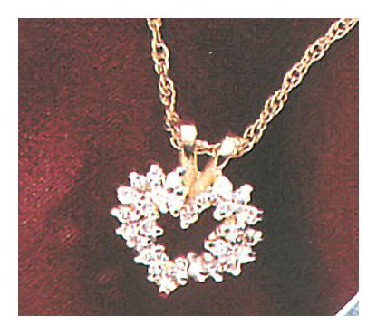 14k Maid Marian Diamond Necklace