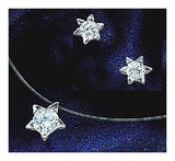 14k Starburst Diamond Necklace