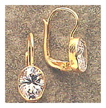 14k Downtown Diva Earrings