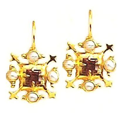 14k Chivalry Earrings