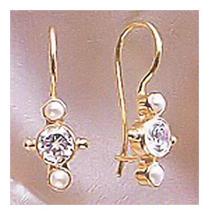 14k Europa Earrings