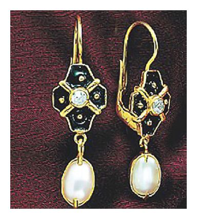 14k La Belle Dame Earrings