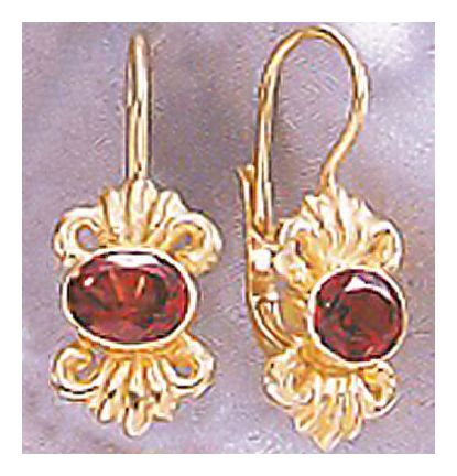 14k House Of Lords Earrings