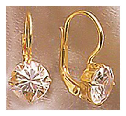 14k Club Ritz Earrings