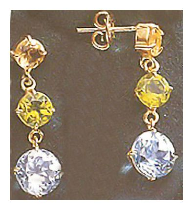 14k La Traviata Earrings