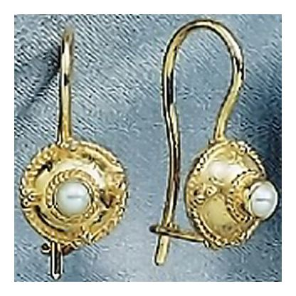 14k Alexandria Pearl Earrings
