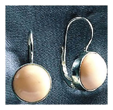 14k Prehistoric Bead Earrings