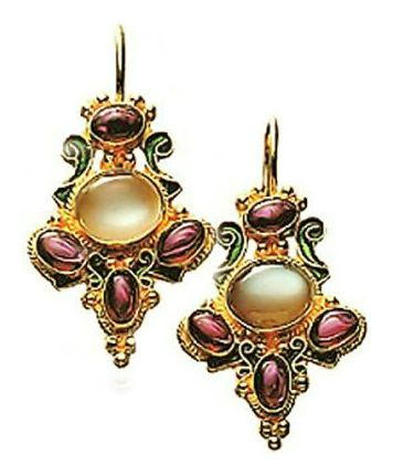 14k Palazzo Fascari Earrings