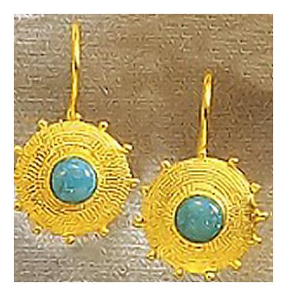 14k Sultana Earrings