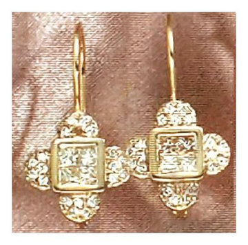 14k La Scala Diamond Earrings (.56ct)