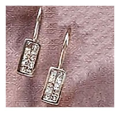 14k Winter Holiday Diamond Earrings